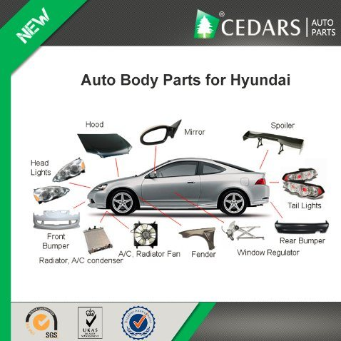 [Hot Item] Auto Body Parts and Accessories for Hyundai Tucson