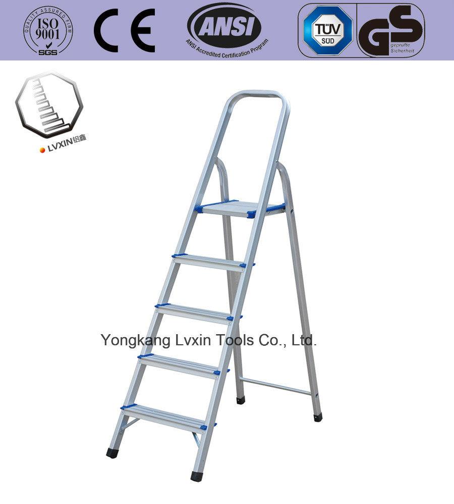 [Hot Item] En131 Household Aluminium Ladder of 5 Steps