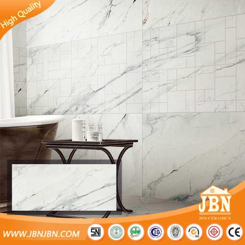 China Big Size Carrara Marble Glazed Porcelain Flooring Tile - Carrara marble tile sizes