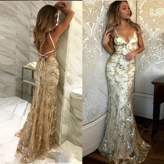 China Spaghetti Prom Party Celebrity Dresses Eliesaab Hand Beading ...