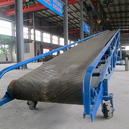 Horizontal Gravel Coal Rocks Mobile Belt Conveyor pictures & photos