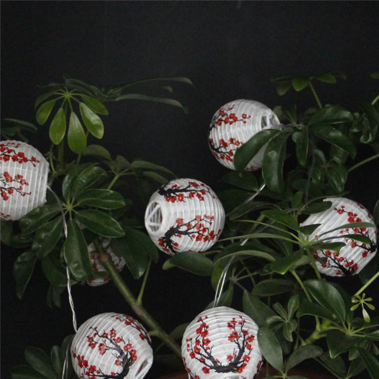 China Mini Chinese Anese Paper Lanterns Lamp Led String Lights