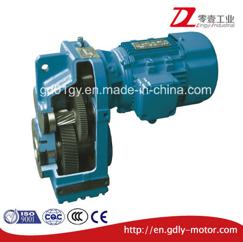 F Parallel Shaft Helical Gear Reducer pictures & photos