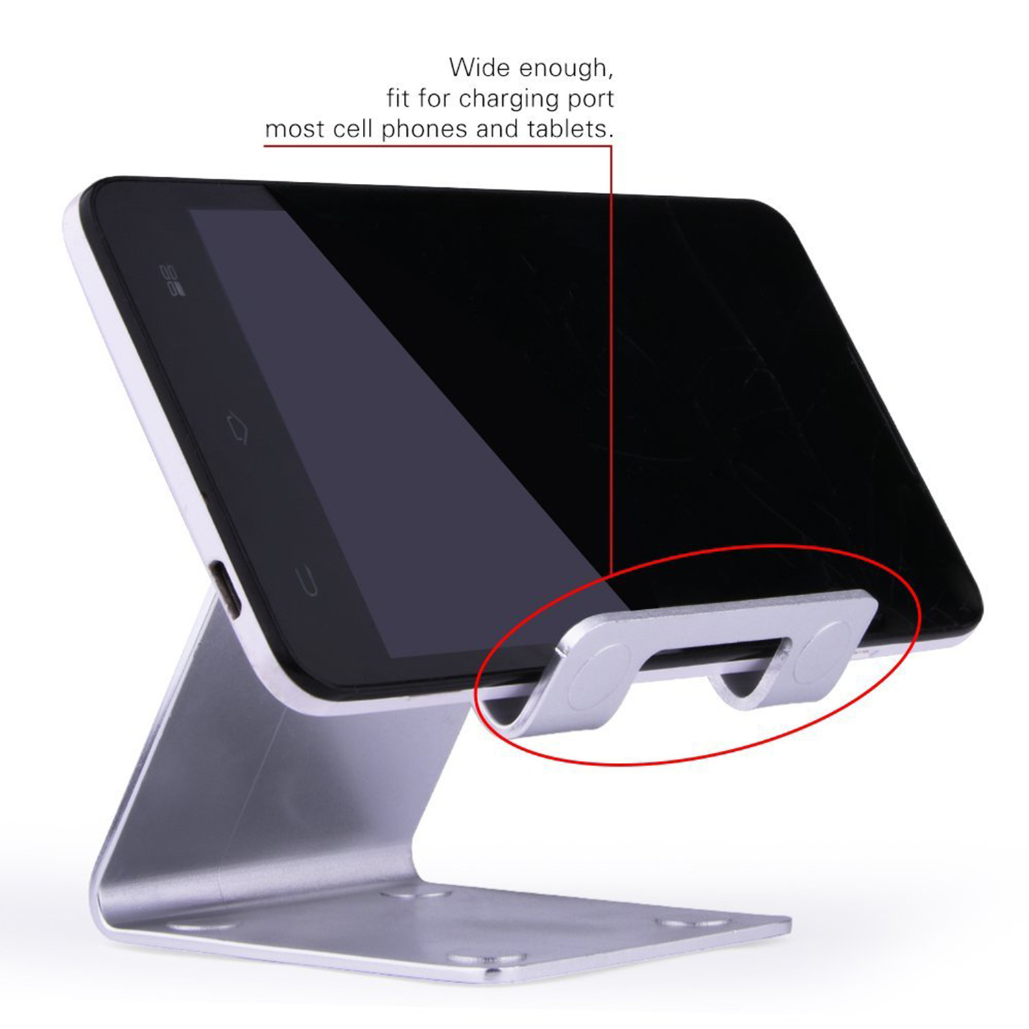 Iphone 8 Cell Phone Stand Holder For Switch Android Smartphone Charging Desk