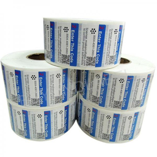 Color Printed Self-Adhesive Sticker Label for Packing