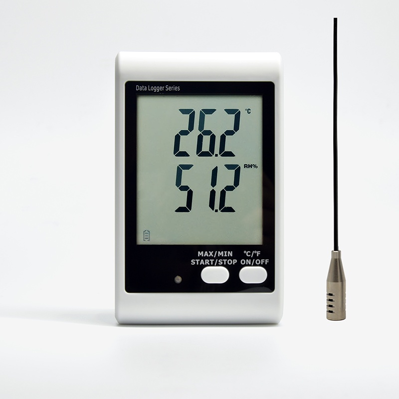 Dwl-21e LCD Digital Temperature Humidity Data Recorder Logger Thermometer Hygrometer USB pictures & photos