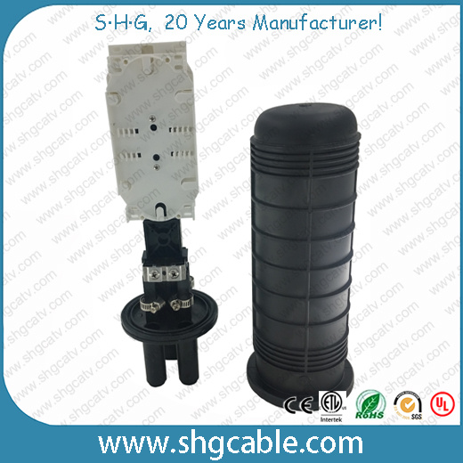 Mini Size 24 Splices Heat Shrink Fiber Optical Splice Closure