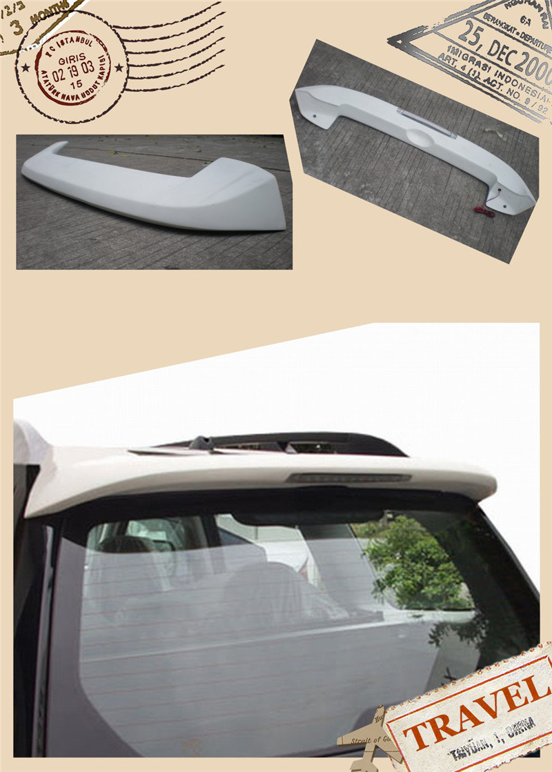 Carbon Fiber Spoiler for Subaru Forester 09th