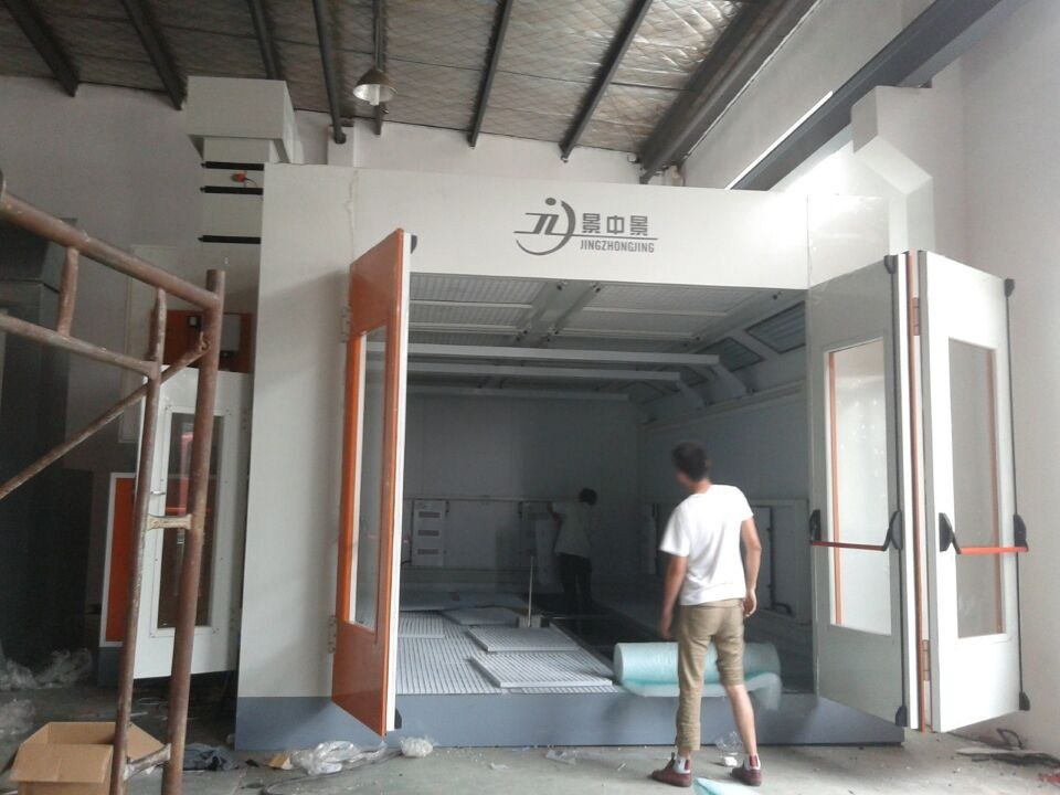 Automobile Car Spray Booth with Heating Recycling System