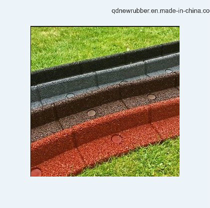 China Eco-Friendly Rubber Curb for Garden Edging Landscape Ornament