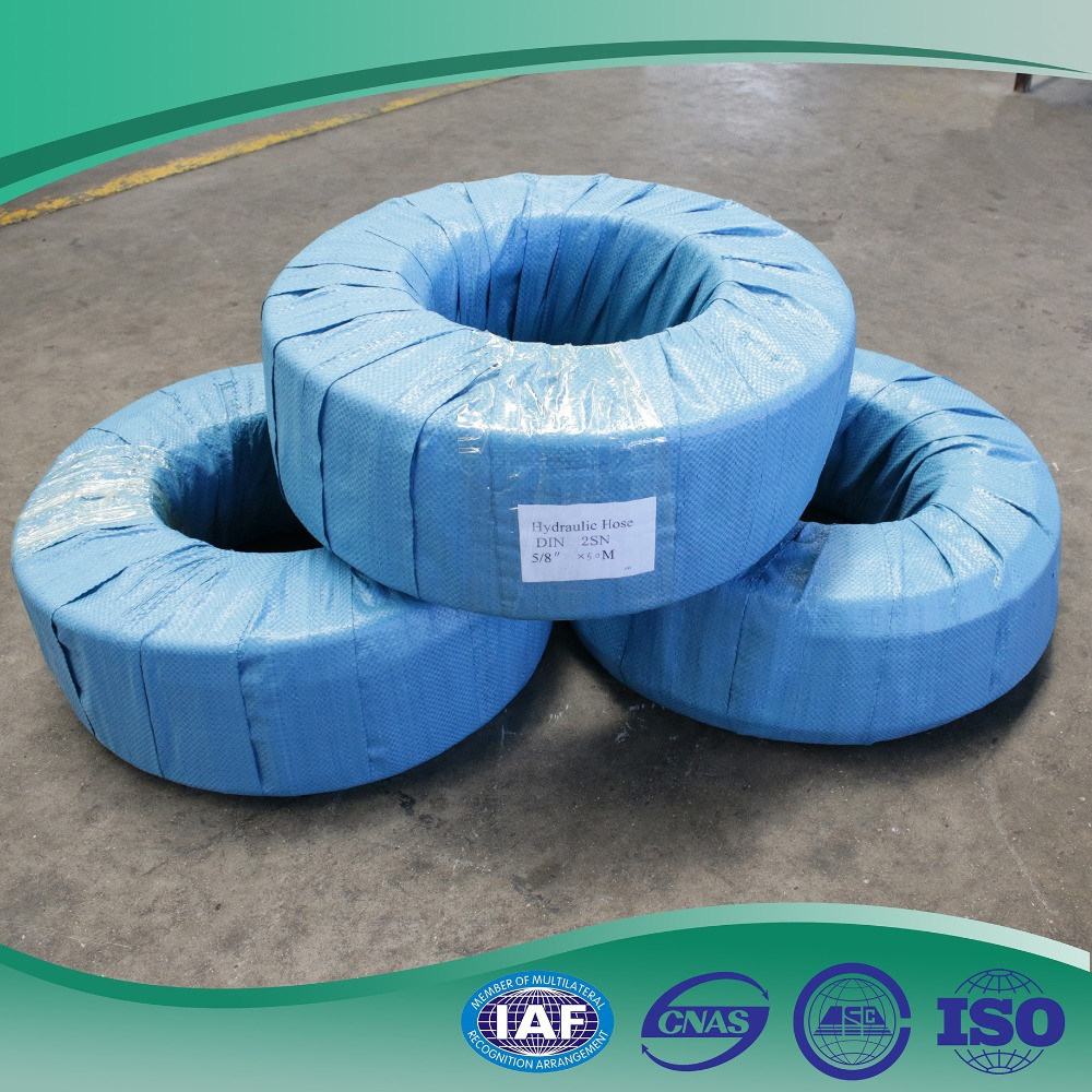 China 1/2′′ Rubber Cover Oil Resistant Industrial Usage 4sp ...