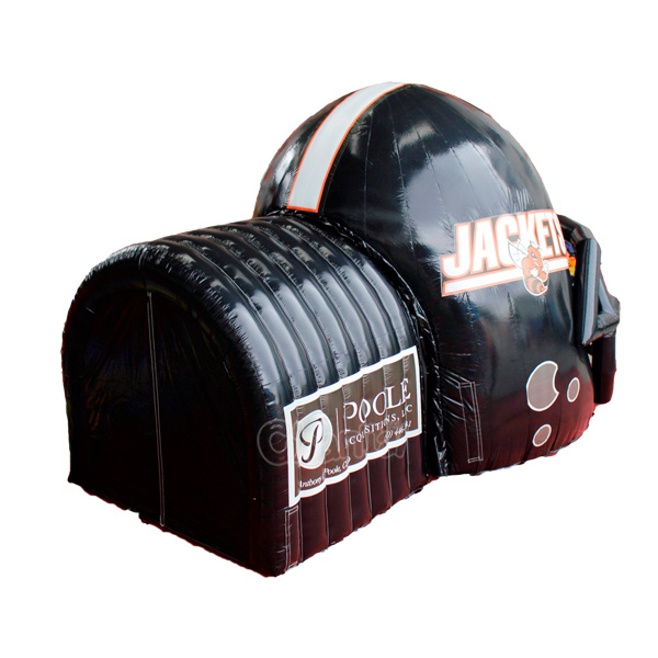 Customized Inflatable Football Helmet Tunnel Chad365 pictures & photos