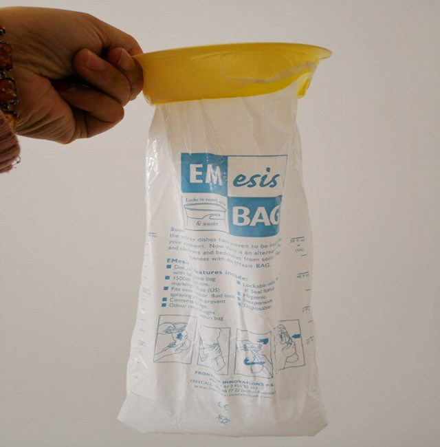 High Quality Plastic Sickness Vomit Emesis Bags pictures & photos