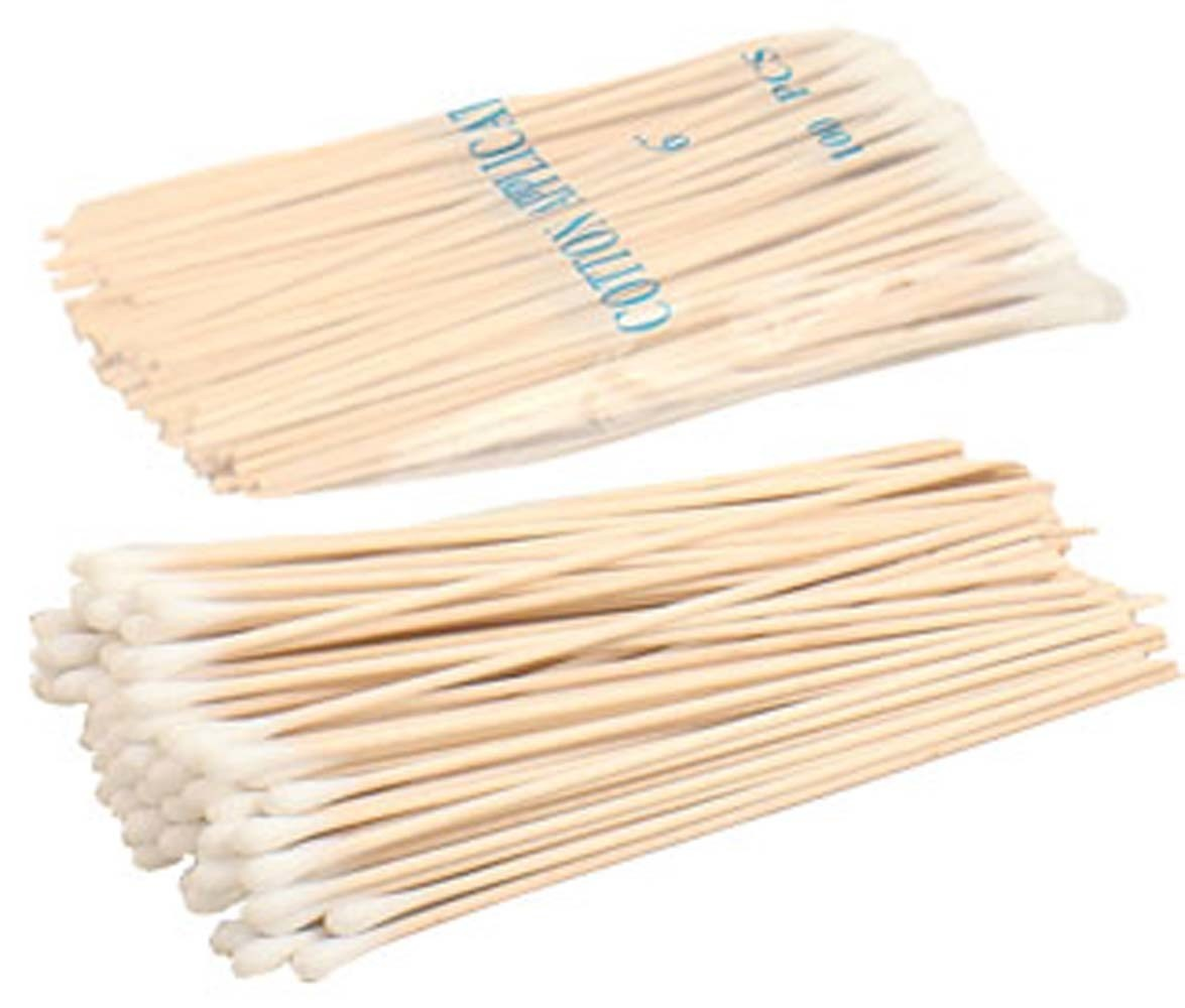 China Medical Disposable Q Tips Sterile Wooden Sticks Cotton Buds