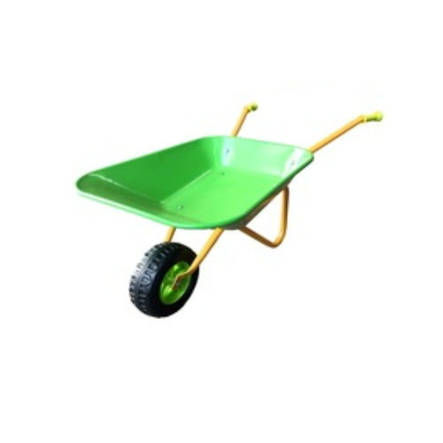 New Style Garden Kids Play Stroller Metal Tray Wheelbarrow pictures & photos