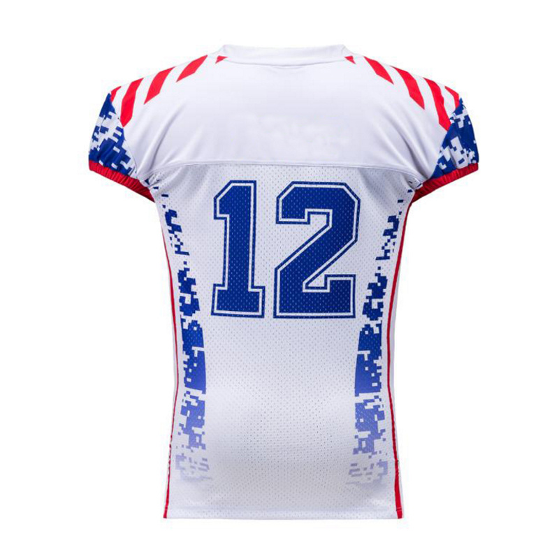7fa9a027e5b4 China Custom Sublimation Make Your Own Football Jersey New Model ...