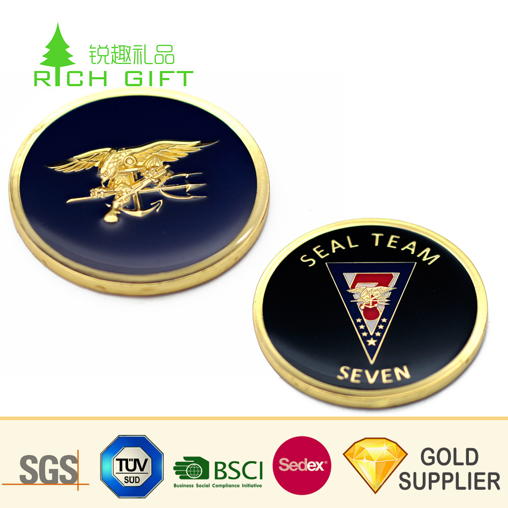[Hot Item] Wholesale China Custom Metal Iron Stamped Copy Bit Coin Gold  Plated Crypto Commemorative Coin