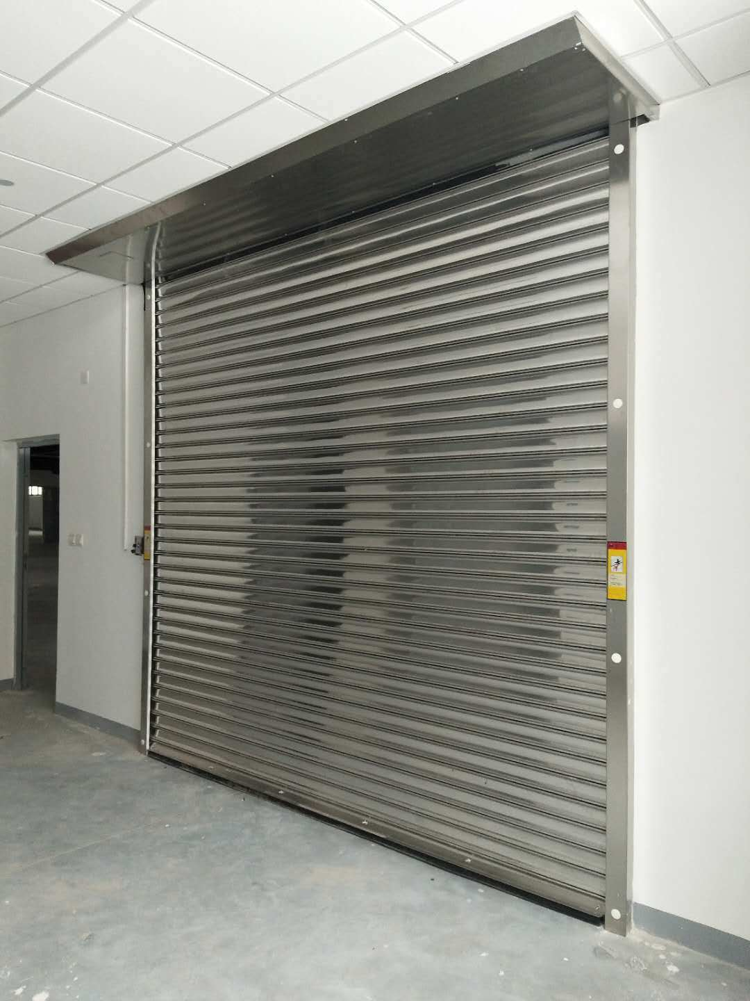 China Industrial Exterior Interior Gi Roller Shutter
