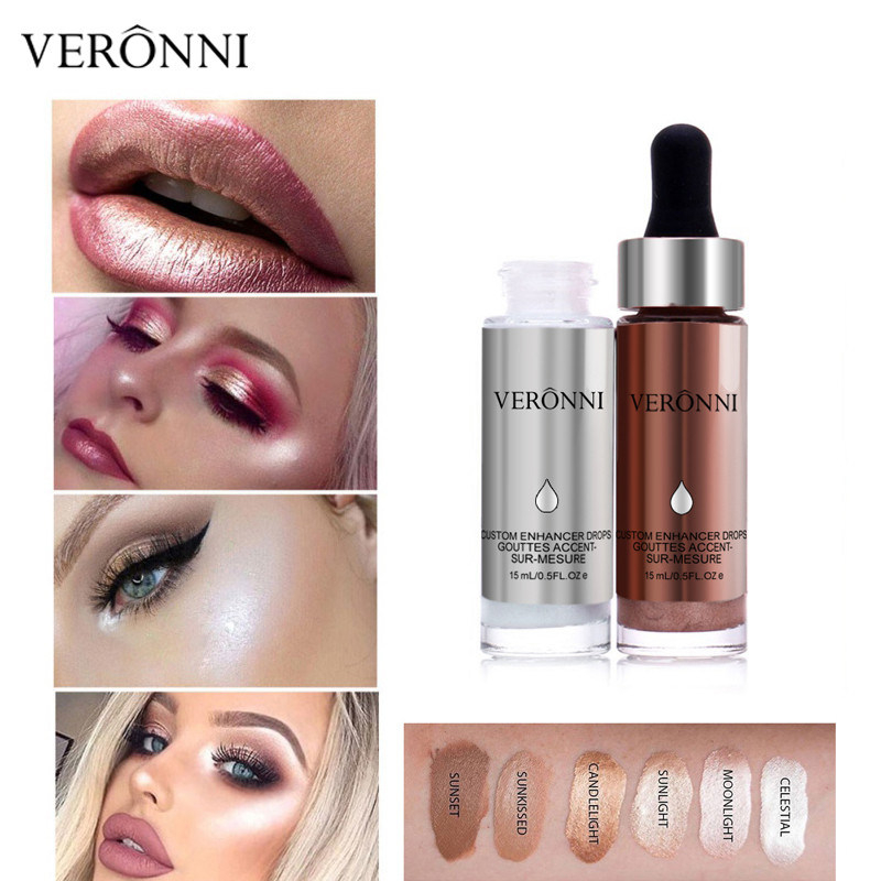 China VERONNI 6 Color Shimmer Liquid