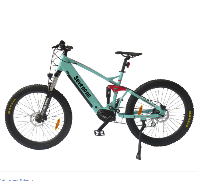 Full Suspension MID Drive Motor Mountain Electric Bicycle pictures & photos