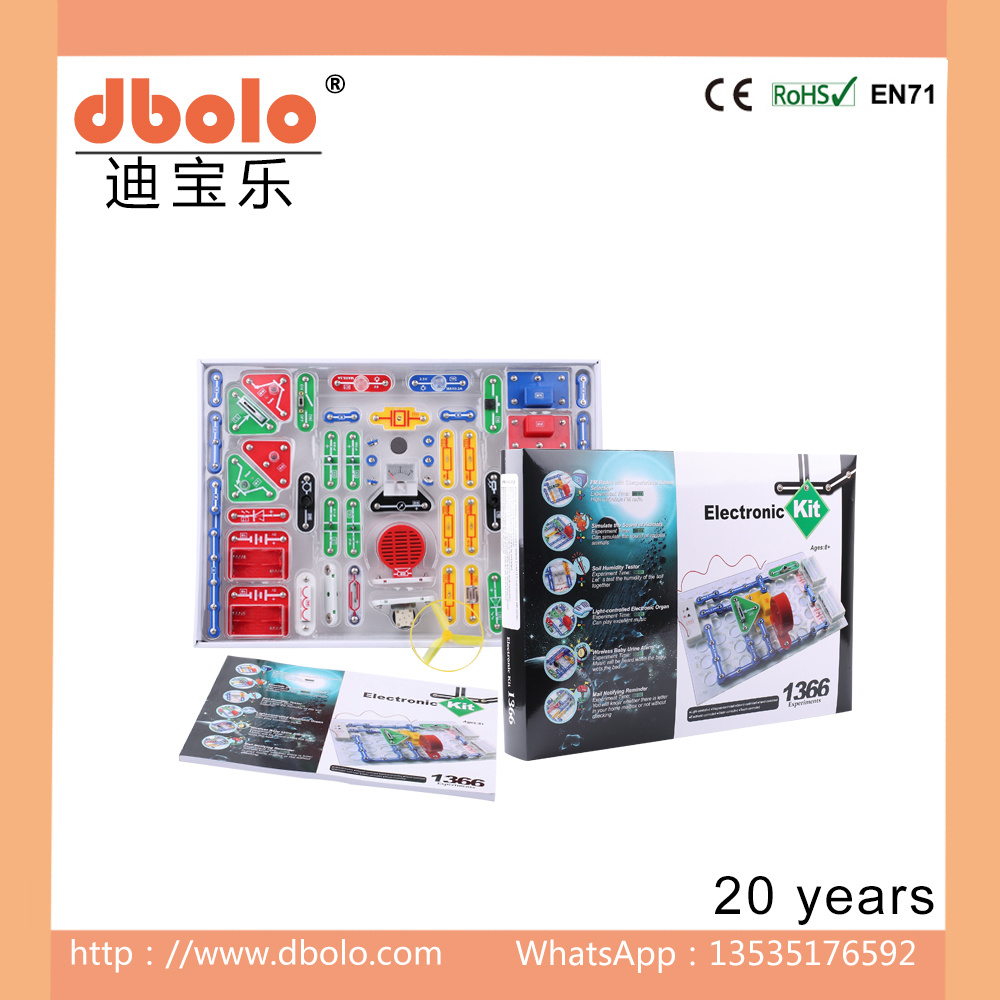 China Acoustic Generator Electronic Building Blocks Hot Sell Toys China Light Controlled Toys And Mini Fan Price