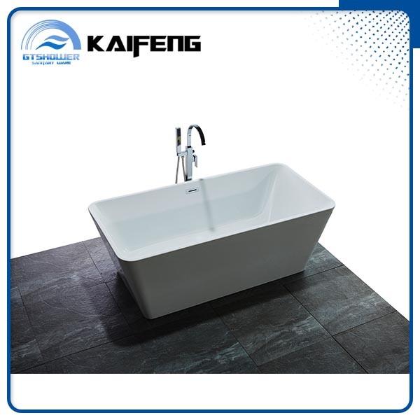 China 67 Inch Rectangle Acrylic Standalone Bathtub (KF 766BC)   China Standalone  Bathtub, 67 Inch Bathtub