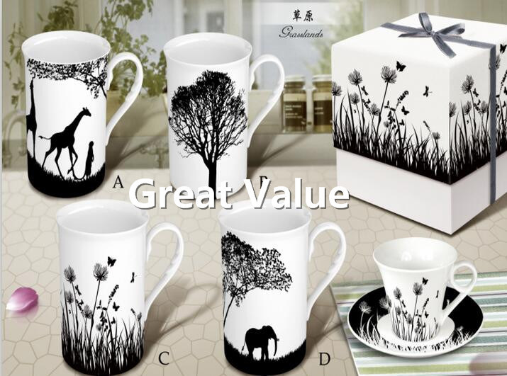 New 2017 Personalized White Ceramic Coffee Mug, Porcelain Coffee Cup pictures & photos