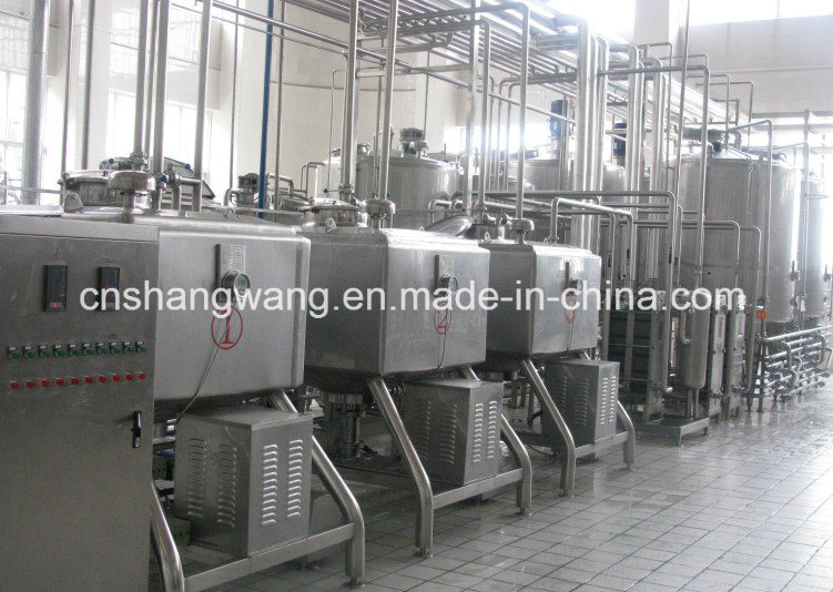 5t/H Complete Yogurt/Milk/Production Line pictures & photos