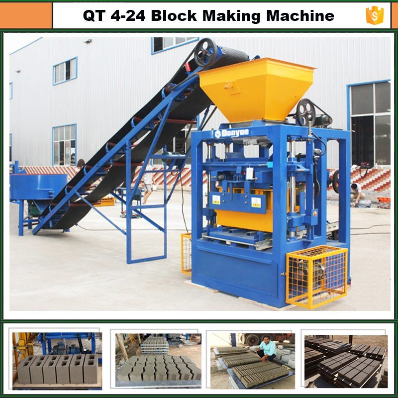 Standard Brick Making Machine Qt4-24 Dongyue Machinery Group pictures & photos