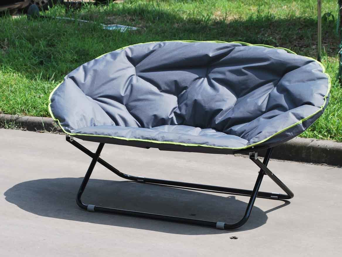 China Double Folding Moon Chair For Outdoor Using Fc 5046