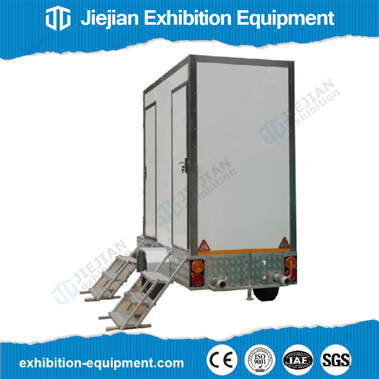 Mobile Temporary Luxury Porta Potty Toilets Trailer for Sale