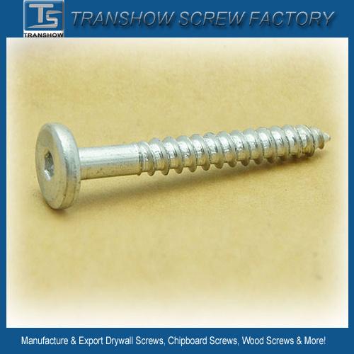 Wood Screws #4 X 1 300 pcs Flat Slot Drive Brass