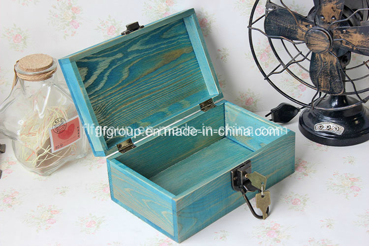 Antique Finish Chic Wooden Gift Box Wood for Packaging pictures & photos