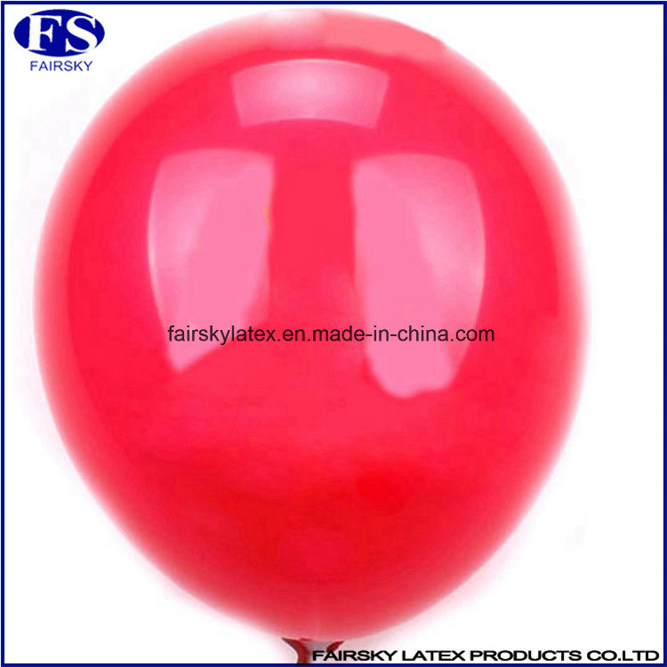 Standard Round Balloons China Supply