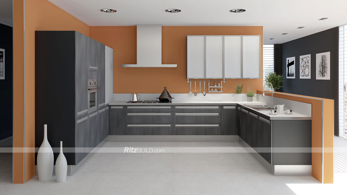 chinese made kitchen cabinets china pvc kitchen cabinet factory made wooden aluminium 13565