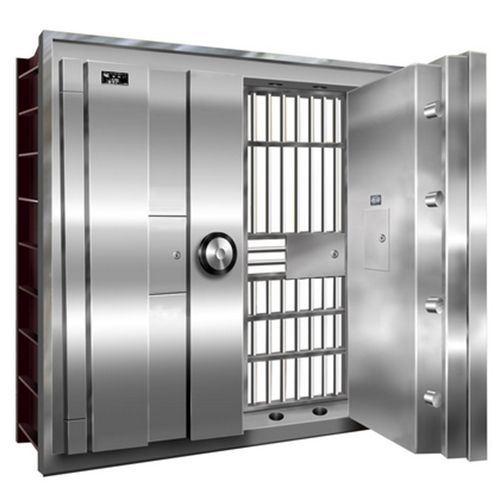 China Stainless Steel Double Door Bank Vault Door Antitheft ...