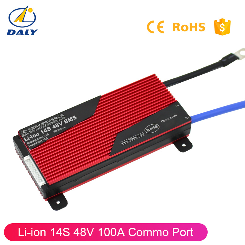 China Daly 14s PCM LiFePO4 / Li-ion Battery Pack BMS PCM 100AMP Li-ion BMS  48V Battery Pack - China BMS, Battery BMS
