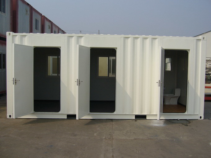 Container Mobile Modular Prefab/Prefabricated Movable Steel Home with PVC Windows pictures & photos