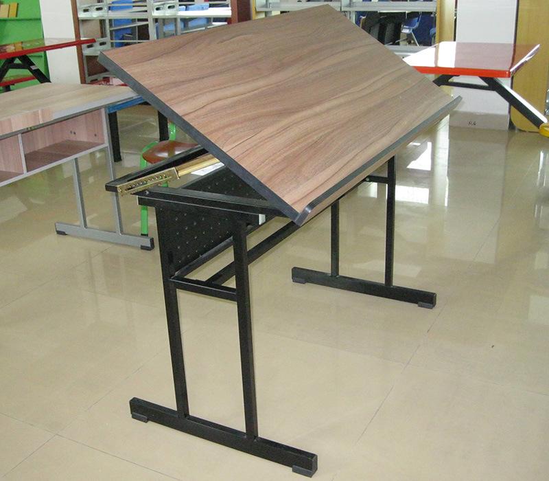 China Art School Student Folding Drafting Desk Adjule Table Dratfing