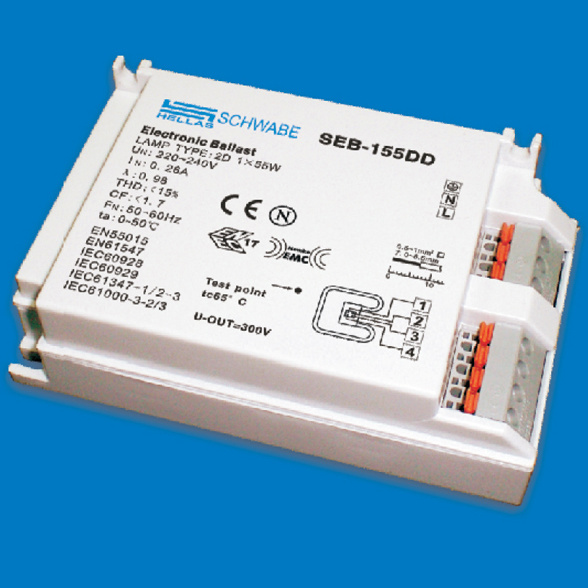 China Electronic Ballast for Compact Fluorescent Lamps (SEB-109PL) - China Electronic Ballasts