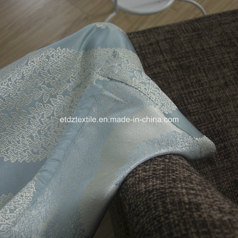 100% Toppest Grade of Embroidery Like Jacquard Ready Made Curtain pictures & photos
