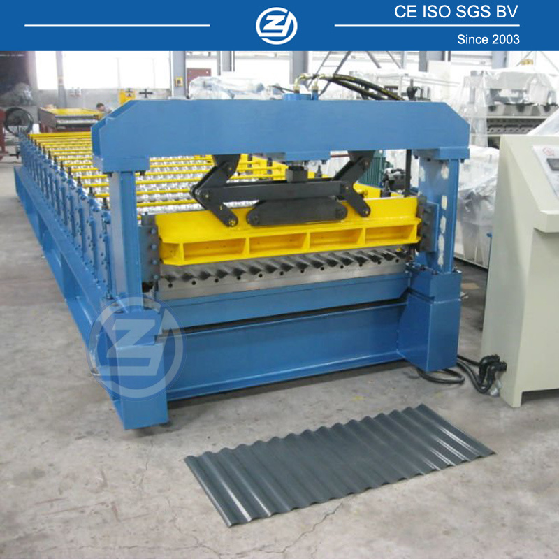 Roofing Sheet Making Machine | Rolled Metal Roofing 2O19