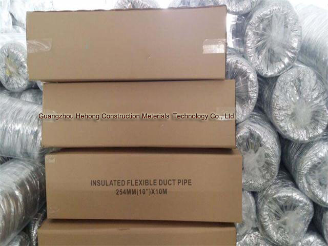 Aluminium Glass Fabric Insulated Flexible Duct (HH-C) pictures & photos