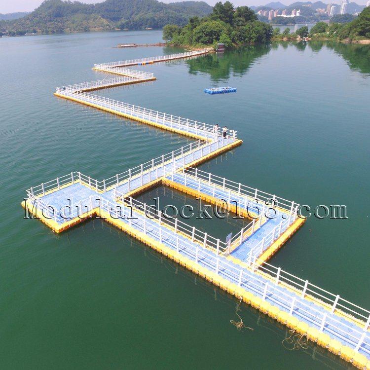 [Hot Item] Plastic Floating Pontoon Bridge Design