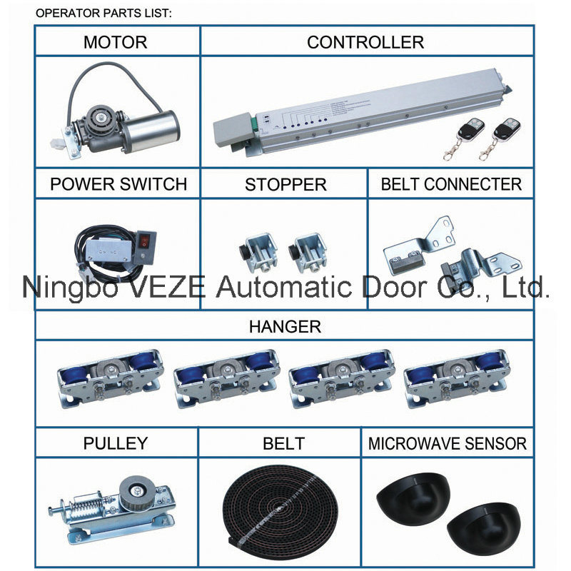 VZ-125A Automatic Glass Sliding Door Operator pictures & photos