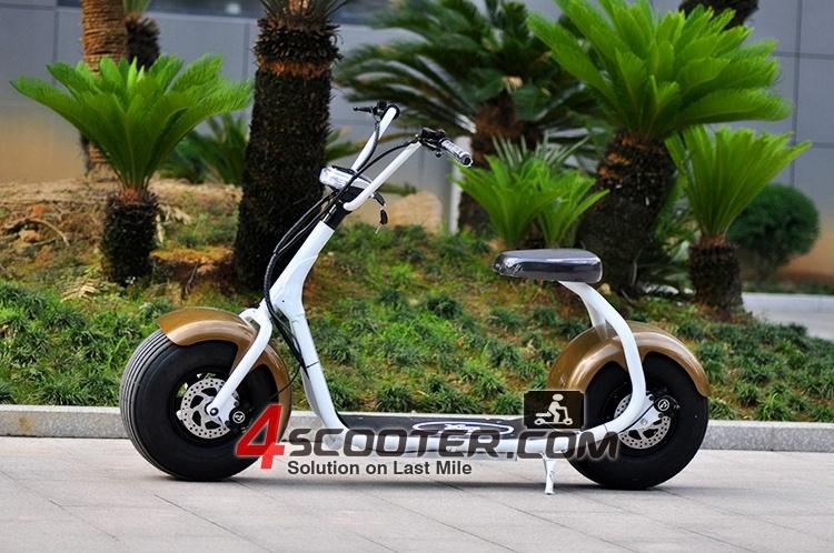 chic 2wheel battery powered chopper smarter city e scooter. Black Bedroom Furniture Sets. Home Design Ideas