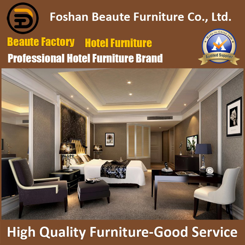 Hotel Furniture/Luxury Morden Star Hotel President Bedroom Furniture Sets/Hotel Bedroom Furniture/Chinese Furniture (GLB-018) pictures & photos