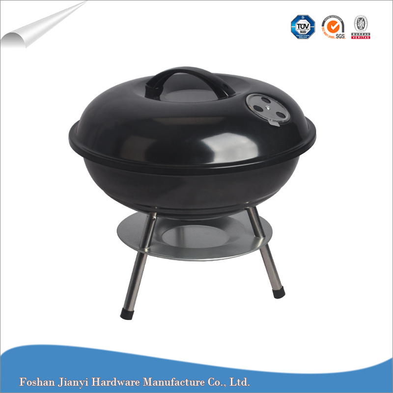 China Small Round Indoor And Outdoor Barbeque Charcoal Bbq