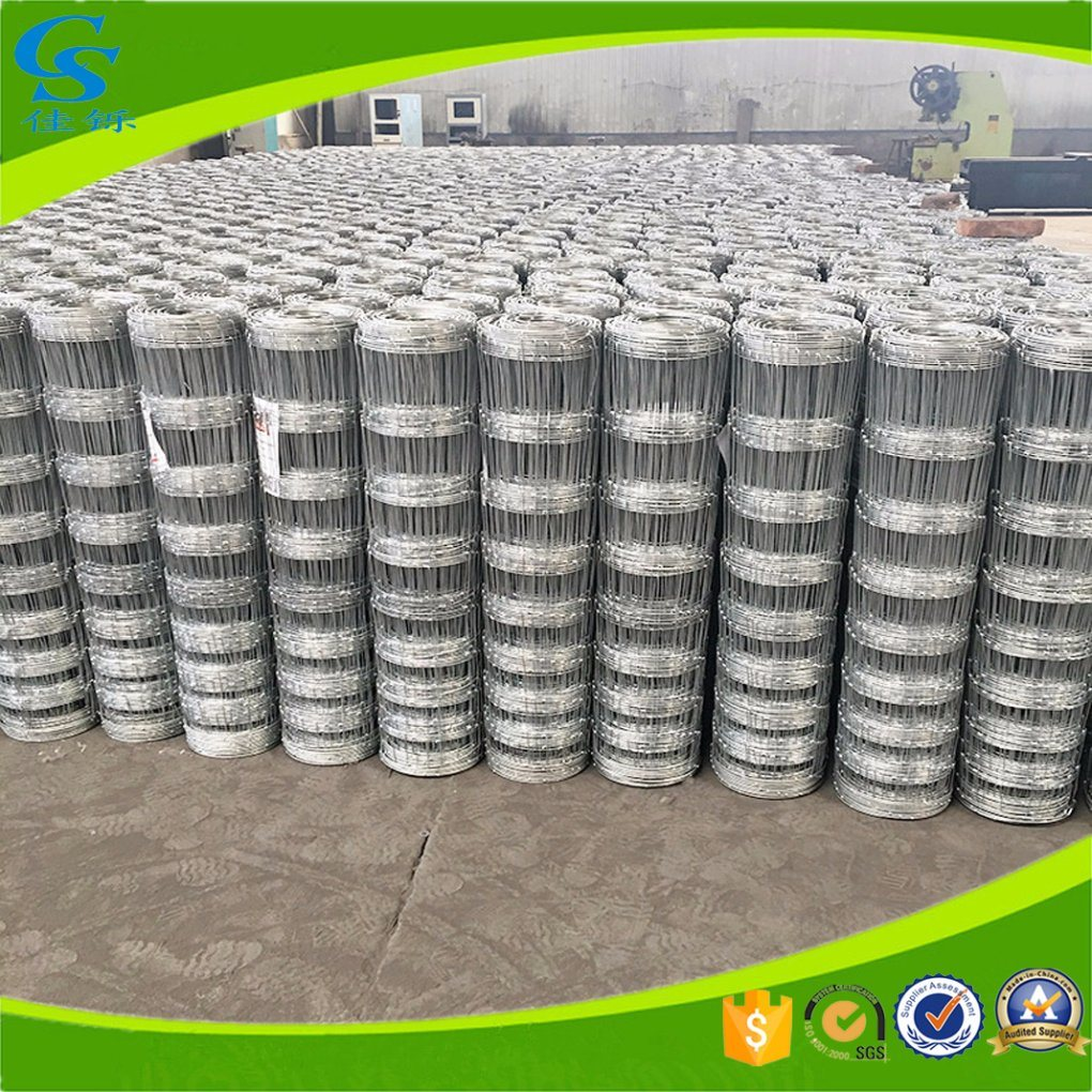 China Galvanized Metal Field Farm Cattle Fence Wire Mesh - China ...