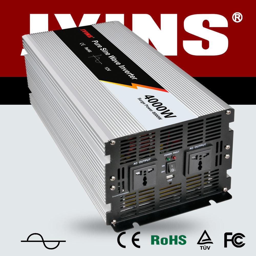 China 4000w 12v 24v 48v Dc To Ac 110v 120v 220v 230v 240v Solar Inverter Power